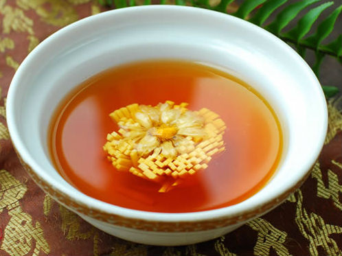 菊花豆根汤