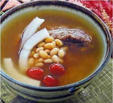 猫爪草瘦肉汤