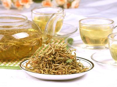 金银薄荷茶