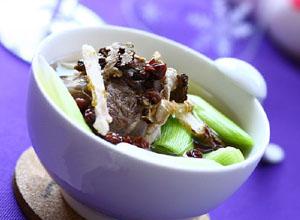 五味子川芎牛肉汤
