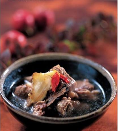 天麻川芎炖牛肉