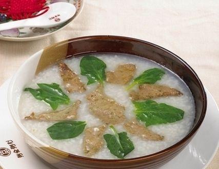 苍术猪肝粥
