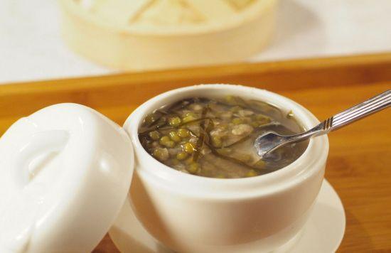 黄柏绿豆汤