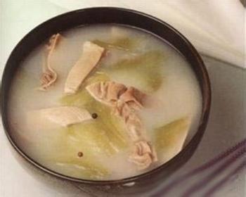 升麻芝麻炖猪大肠