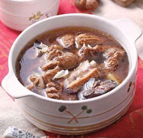 枣仁百合排骨汤