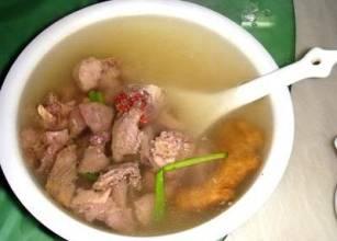 茯神朱砂瘦肉汤