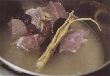 党参麦冬瘦肉汤